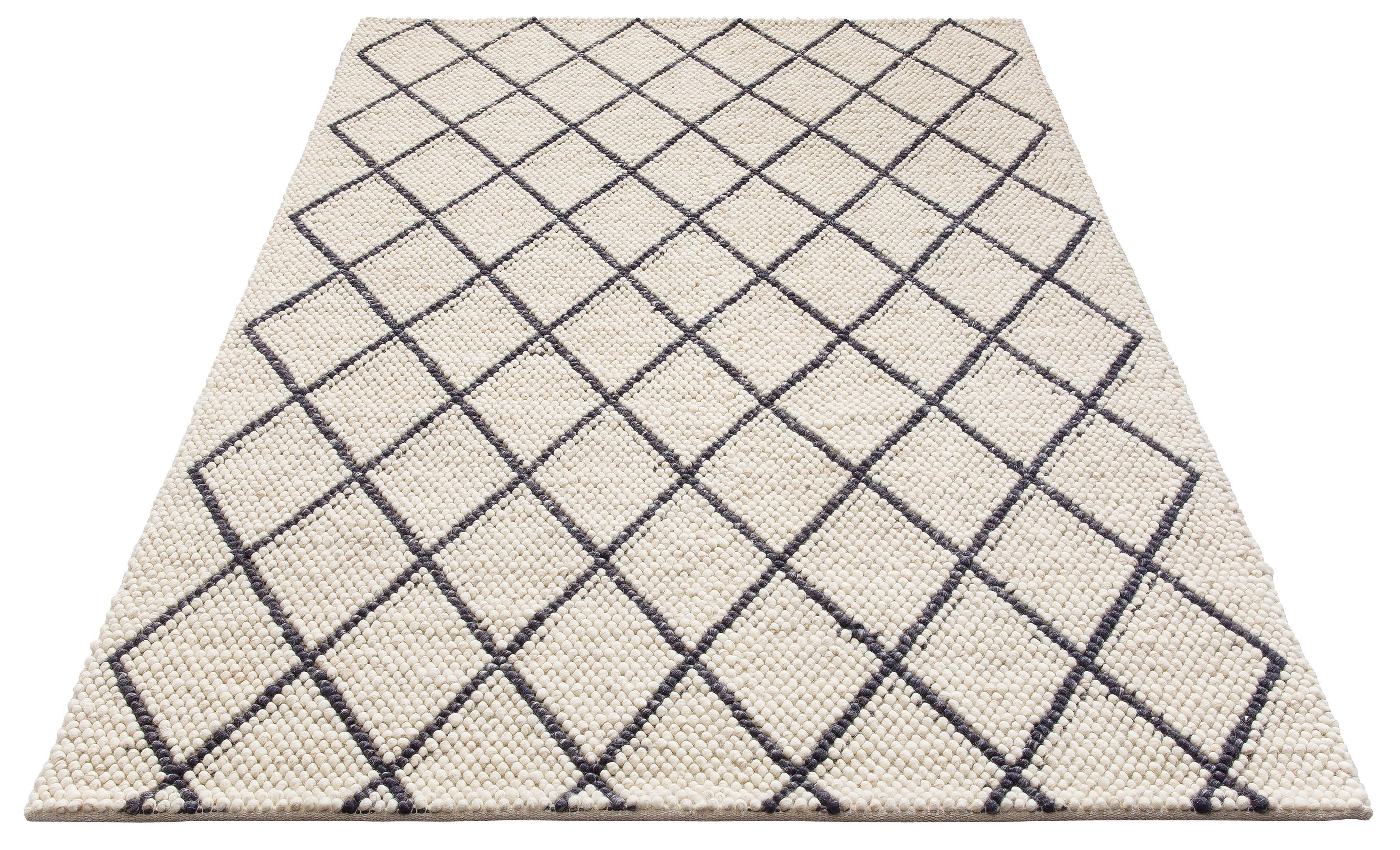 Teppich Lior my home rechteckig Höhe 10 mm handgewebt
