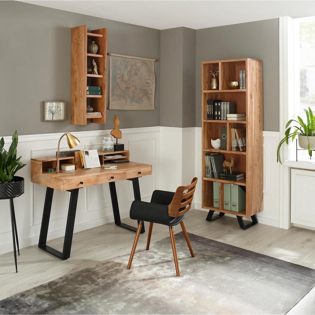 Quadrato Schreibtisch »Cantu«, aus Massivholz