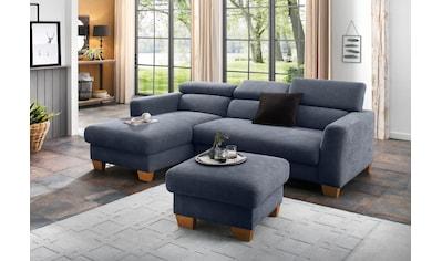 Home affaire Ecksofa »Steve Luxus«, mit besonders hochwertiger Polsterung für bis zu 140 kg pro Sitzfläche kaufen