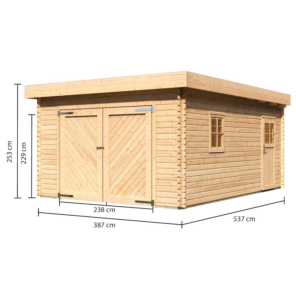 Karibu Garage »Florian«, BxT: 417x571 cm, 193 cm Einfahrtshöhe
