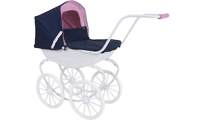 Knorrtoys® Puppenwagen »Classic - navy blue/rose/princess« kaufen