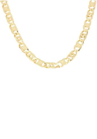 Firetti Goldkette »Achter - Rebhuhn - Plättchenkettengliederung, 5,5 mm breit, 6 - fach diamantiert, konkav« kaufen