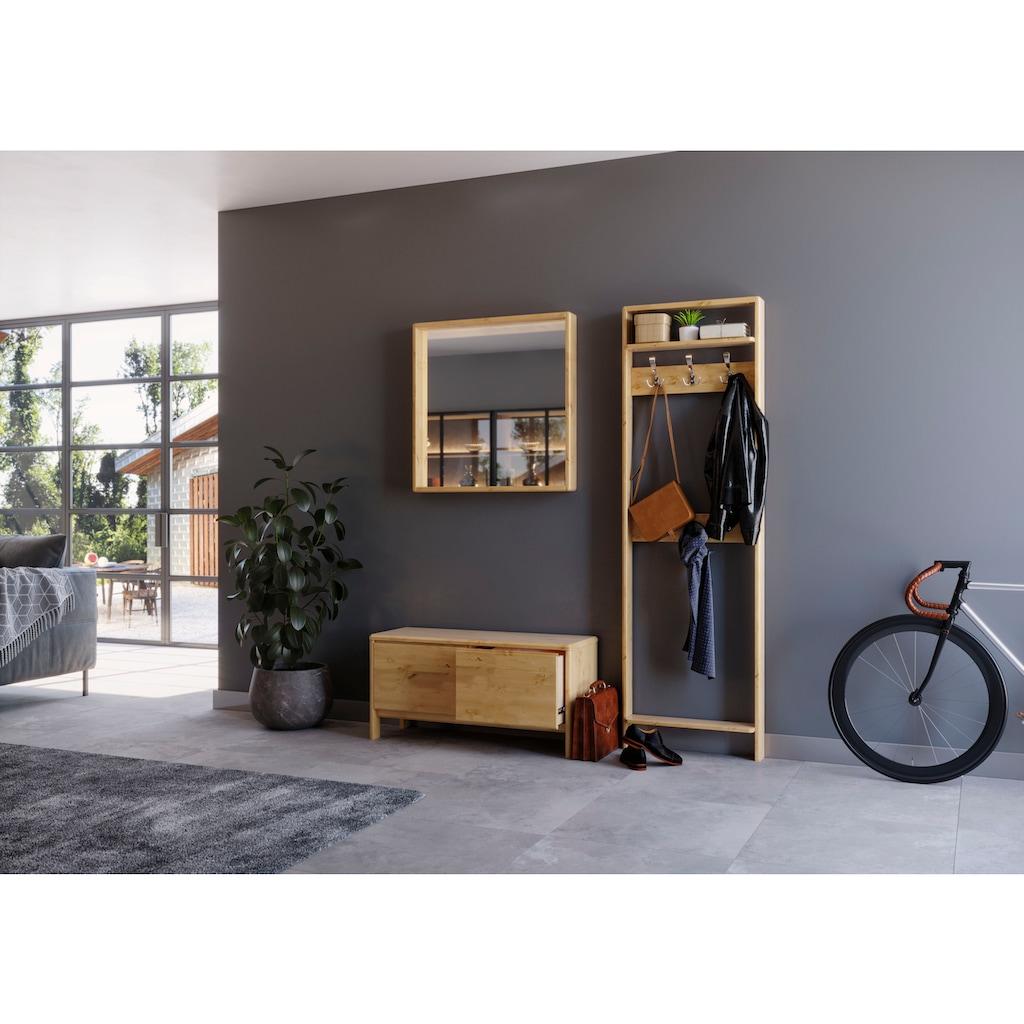 Home affaire Garderoben-Set »Livana«, (Set, 2 St.), aus Massivholz