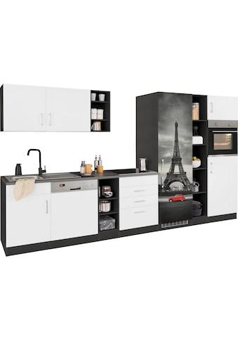 HELD MÖBEL Küchenzeile »Paris«, ohne E-Geräte, Breite 350 cm kaufen