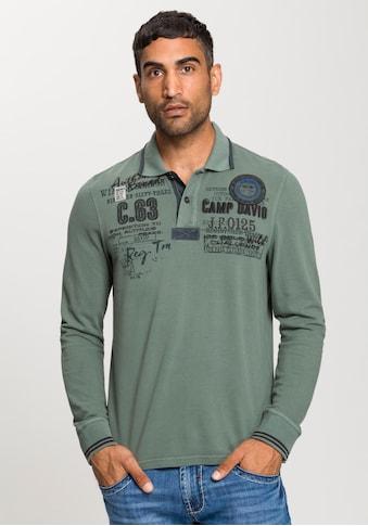 CAMP DAVID Langarm - Poloshirt kaufen