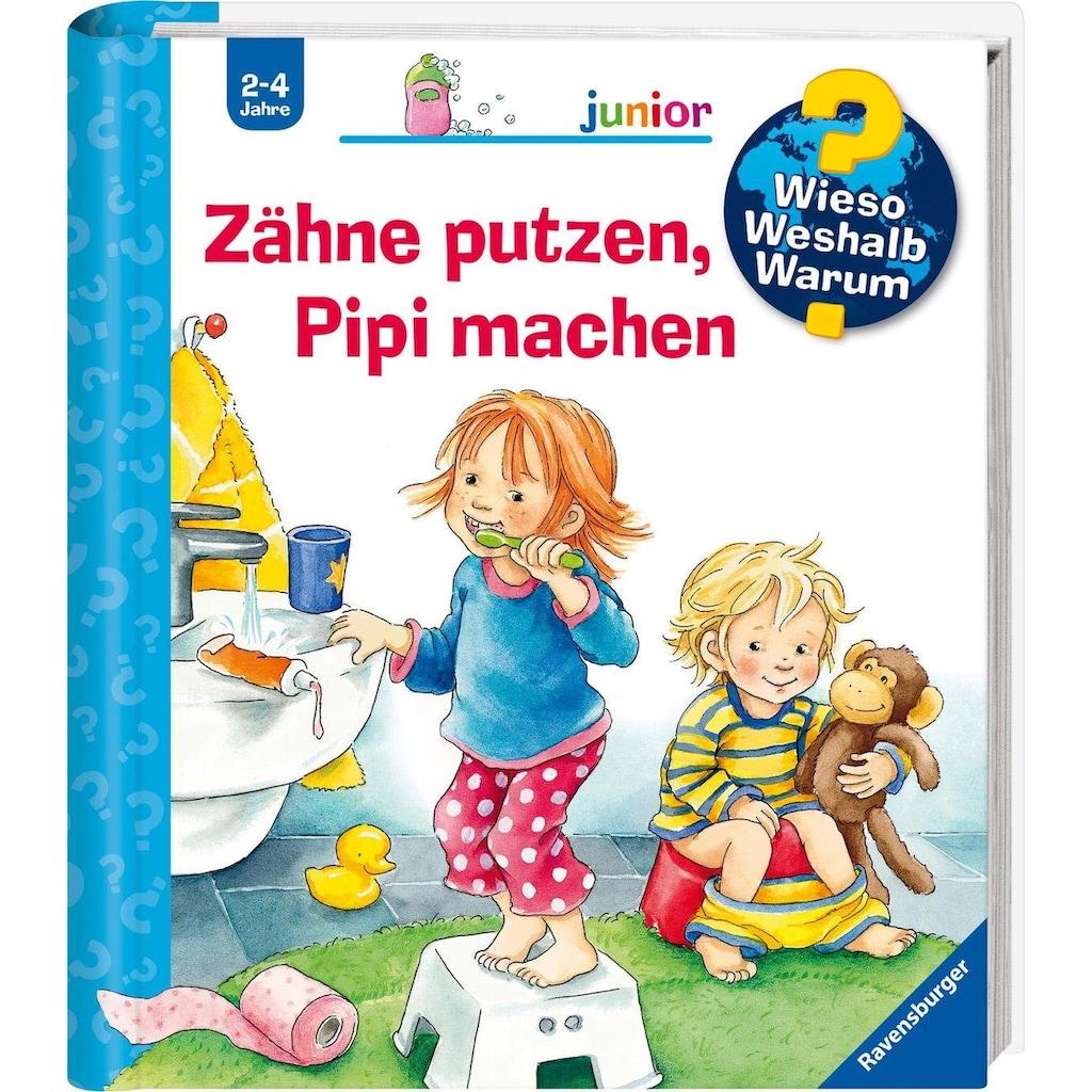 Ravensburger Buch »Zähne putzen, Pipi machen - Wieso? Weshalb? Warum? Junior«, Made in Europe