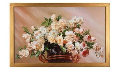 Home affaire Wandbild »White Roses« kaufen