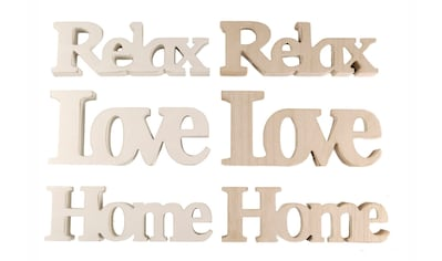 Heim INTERIOR & SEASONAL DESIGN Hängedekoration, Schriftzug kaufen