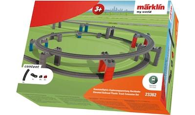 Märklin Modelleisenbahn-Hochbahn »Märklin my world - Kunststoffgleis-Ergänzungspackung Hochbahn - 23302« kaufen