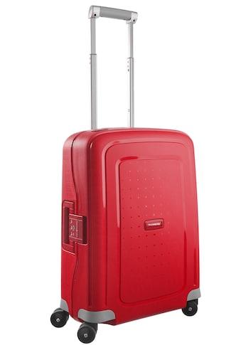 """Samsonite Hartschalen - Trolley """"S'cure, 55 cm, crimson red"""", 4 Rollen kaufen"""