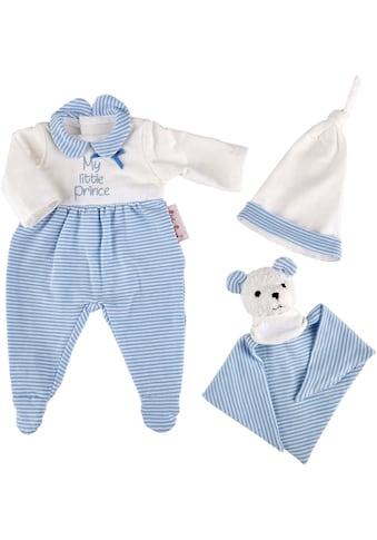 """Käthe Kruse Puppenkleidung """"Schlafanzug Set blau"""", (3 - tlg.) kaufen"""