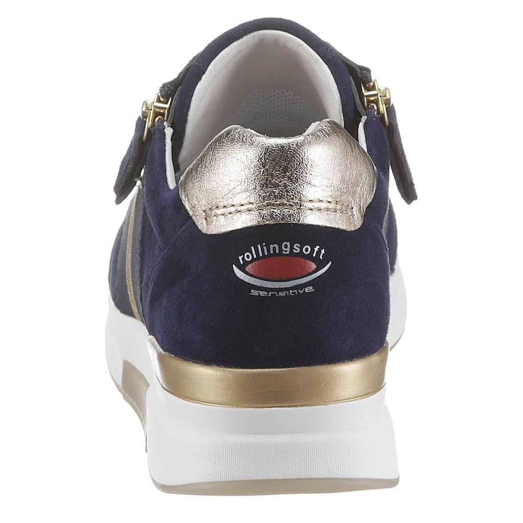 Gabor Rollingsoft Keilsneaker, mit seitlichem Streifen