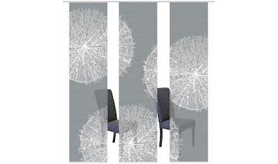 Vision S Schiebegardine »3ER SET CRESTON«, HxB: 260x60, Schiebevorhang 3er Set Digitaldruck kaufen