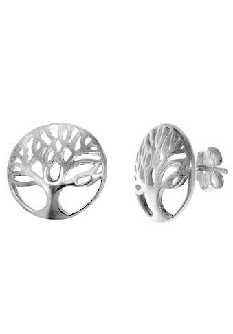 Firetti Paar Ohrstecker »mystischer Lebensbaum, Glanz, rhodiniert« kaufen
