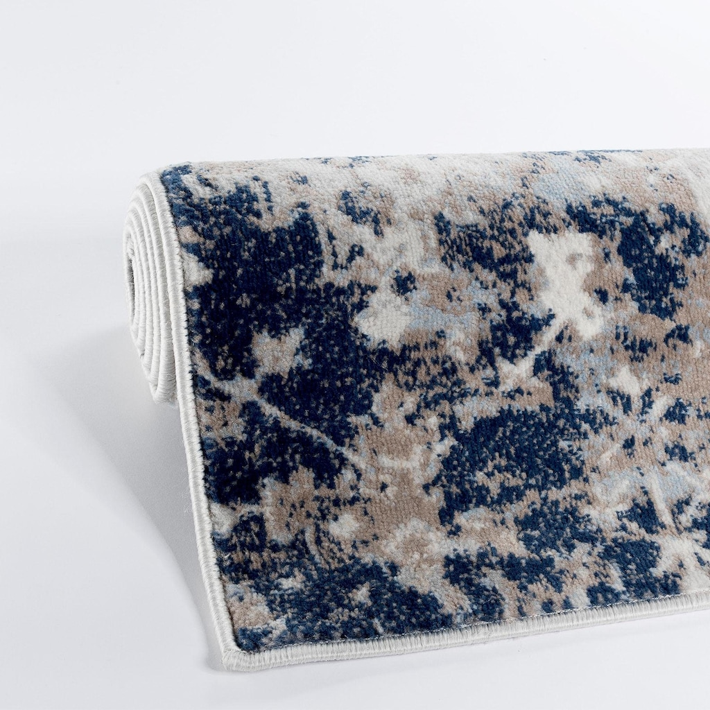 Sehrazat Teppich »Montana 3720«, rechteckig, 8 mm Höhe, Kurzflor, Vintage Design, Wohnzimmer