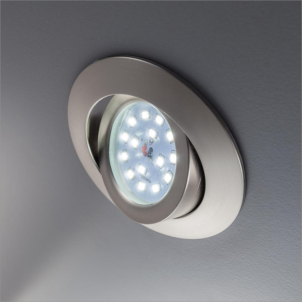 B.K.Licht LED Einbauleuchte »Mano«, LED-Board, Warmweiß, LED Einbaustrahler Spots dimmbar ultra-flach Einbaulampe Deckenleuchte