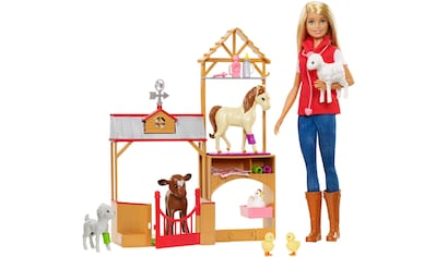 """Mattel® Anziehpuppe """"Barbie, Spaß auf dem Bauernhof Vet"""" kaufen"""