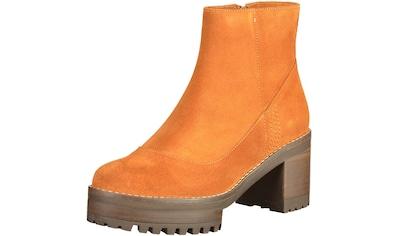 Mellow Yellow Stiefelette »Leder« kaufen