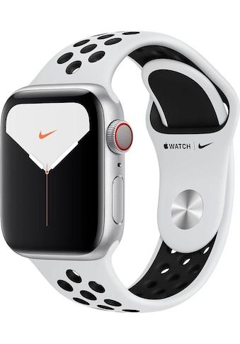 Apple Series 5 Nike GPS + Cellular, Aluminiumgehäuse mit Nike Sportarmband 40mm Watch (Watch OS 6) kaufen