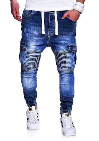 behype Slim-fit-Jeans »MORI«, im Jogger-Stil kaufen