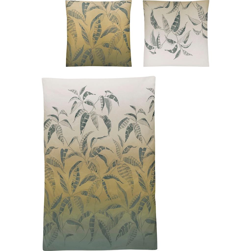 Irisette Bettwäsche »Palma 8239«, mit Blättern