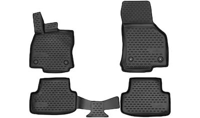 WALSER Passform-Fußmatten »XTR«, Audi, A3, Schrägheck, (4 St., 2 Vordermatten, 2... kaufen