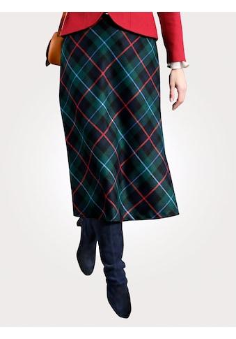 Mona Karorock, mit Diagonal-Webkaro kaufen