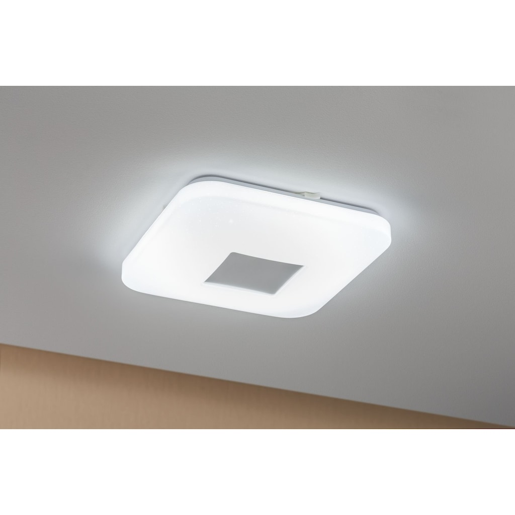 Paulmann LED Deckenleuchte »Sternenhimmel Costella eckig 16W Weiß Sternenhimmel«, 1 St., Tageslichtweiß