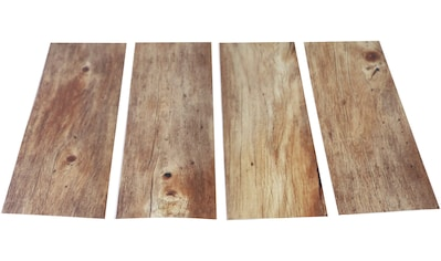 MYSPOTTI Duscheinlage »Klebefliese stepon Holz«, Set 4 - teilig, Antirutsch - Aufkleber, BxH: 30 x 10 cm kaufen