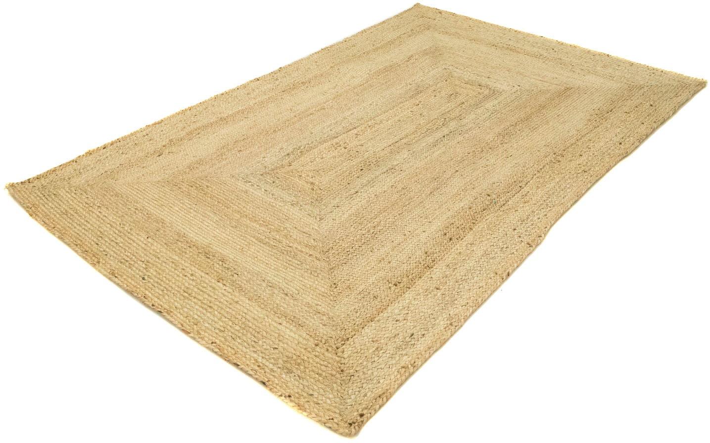 morgenland Teppich Sisalteppich Indigo, rechteckig, 7 mm Höhe beige Juteteppiche Naturteppiche Teppiche