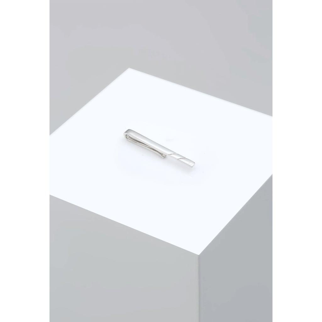 Kuzzoi Krawattennadel »Herren Basic Klassisch 925 Silber«