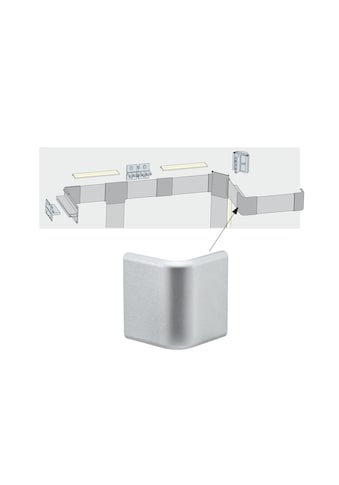 Paulmann LED - Streifen »Duo Profil Corner 2er Pack Alu matt, Kunststoff Alu matt, Kunststoff« kaufen