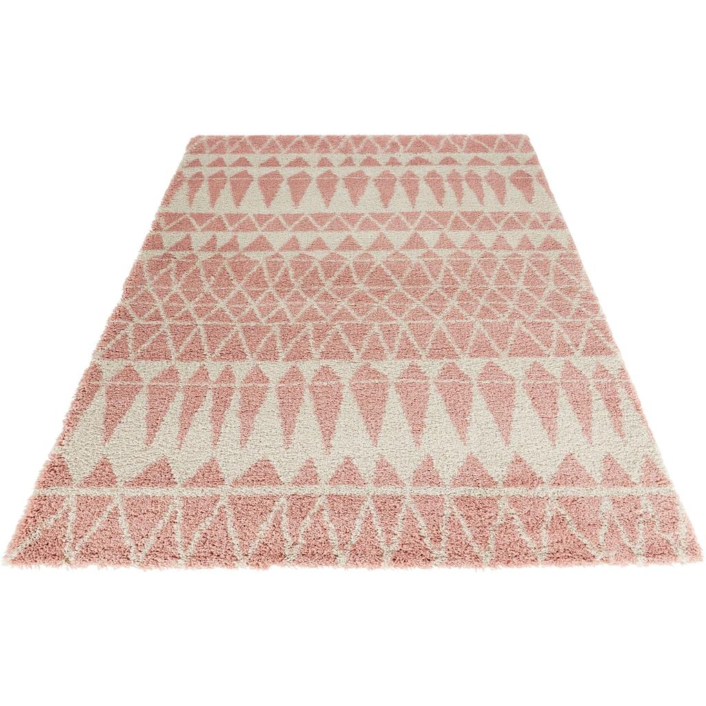 Hochflor-Teppich, »Inspire«, MINT RUGS, rechteckig, Höhe 35 mm, maschinell gewebt