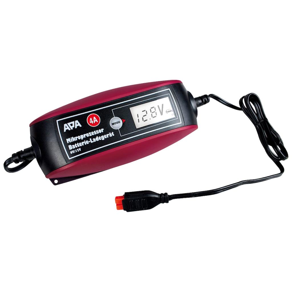 APA Batterie-Ladegerät, 4000 mA, 6V/12V