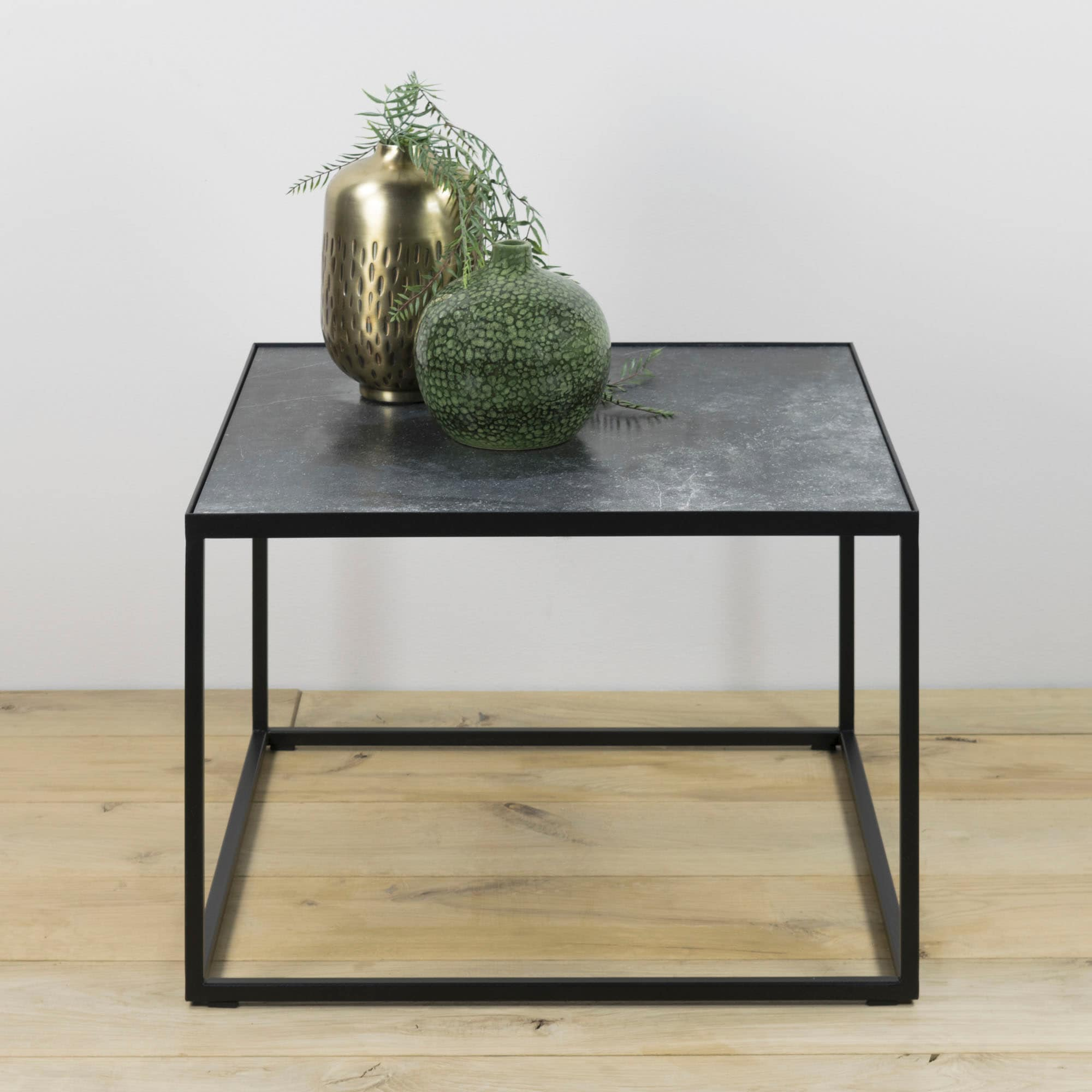 Spinder Design Beistelltisch Tijl schwarz Beistelltische Tische
