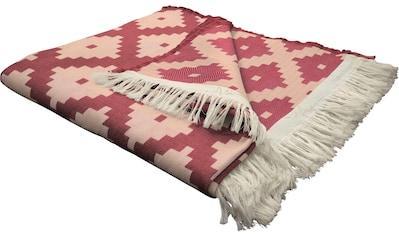 Adam Wohndecke »Maroccan Shiraz«, mit aufregendem Muster kaufen
