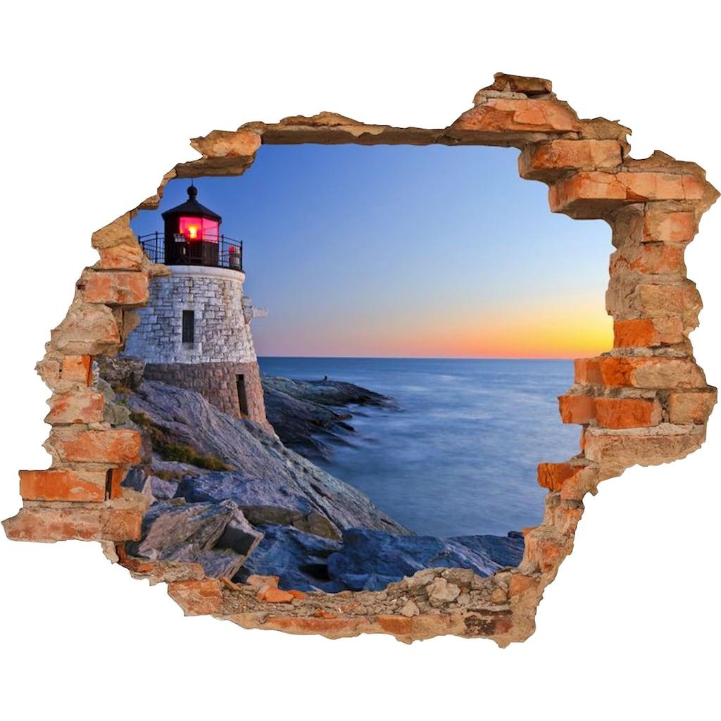 Conni Oberkircher´s Wandsticker »Lighthouse«, selbstklebend