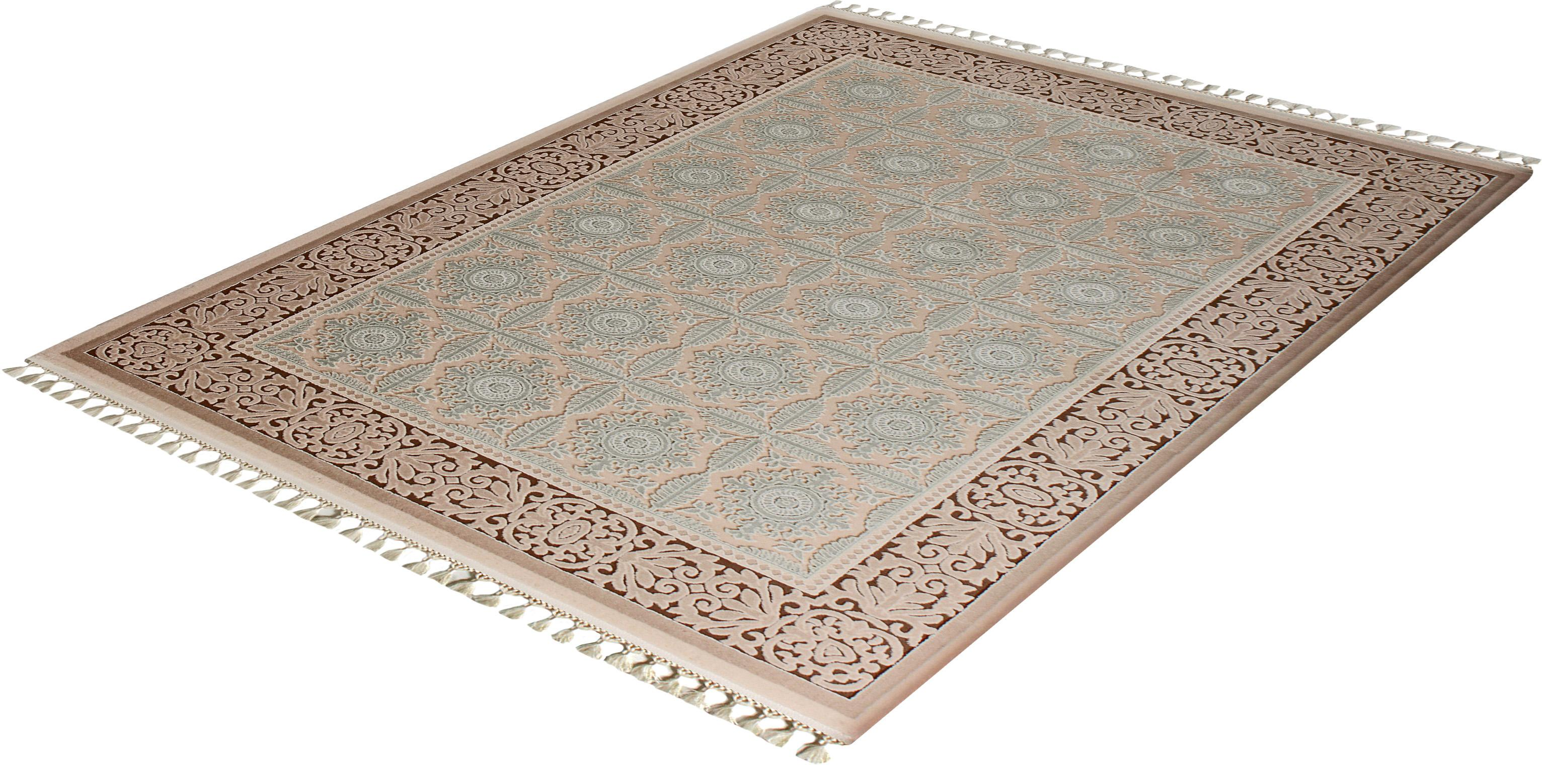 Orientteppich Delüks 6825 Sanat Teppiche rechteckig Höhe 14 mm