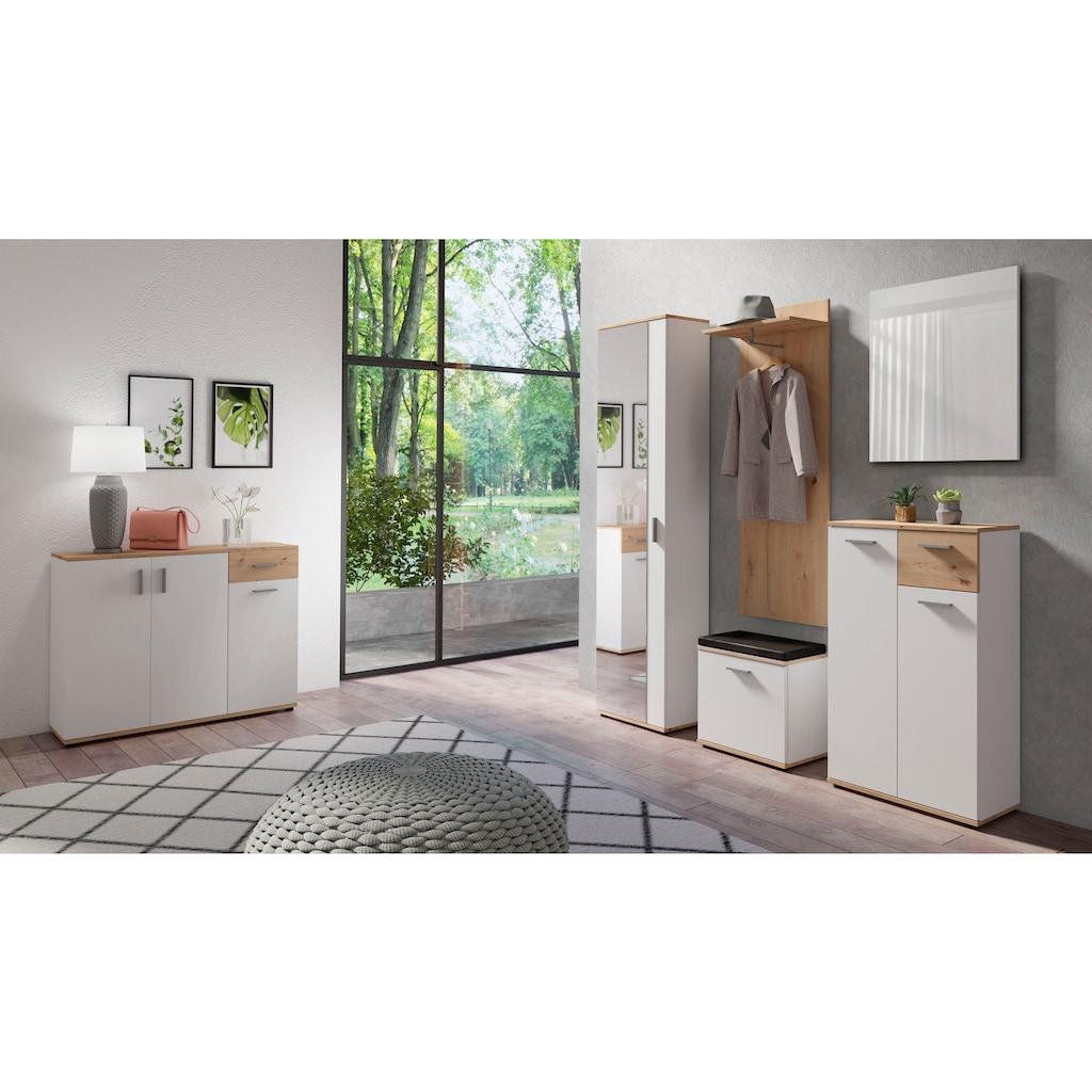 Homexperts Garderobenschrank »Justus«, mit Spiegel