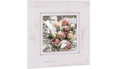 Home affaire Holzbild »Tulpenstrauß«, 40/40 cm kaufen