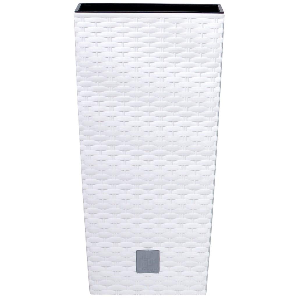 Prosperplast Pflanzkübel »Rato square«, BxTxH: 28,7x28,7x55 cm