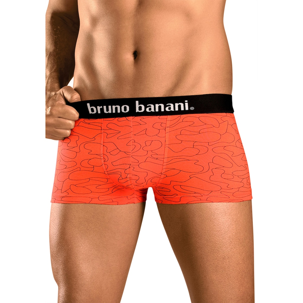 Bruno Banani Hipster, (Packung, 4 St.), uni oder gemustert