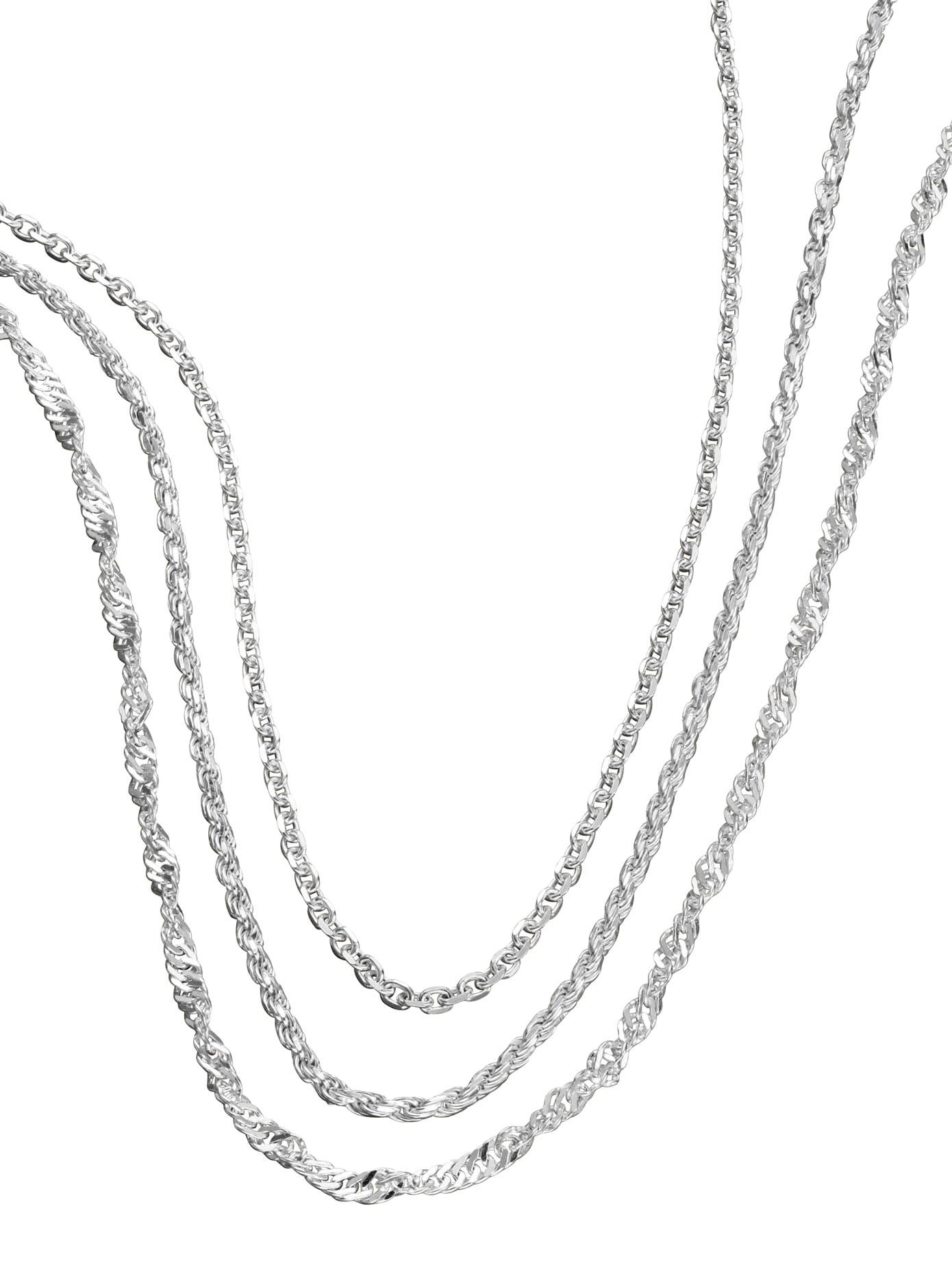 Set: Ketten (3 Stck) | Schmuck > Halsketten > Ketten ohne Anhänger