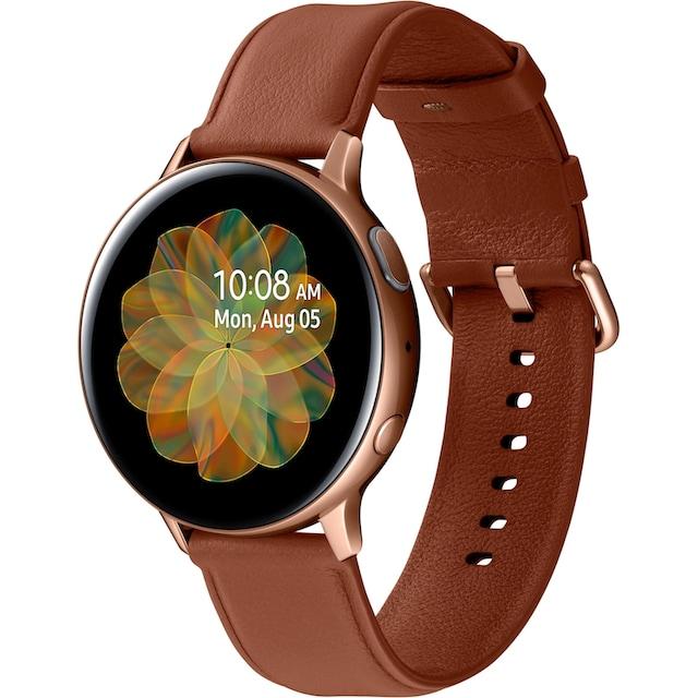 Samsung Galaxy Watch Active2 Edelstahl, 44 mm, Bluetooth (SM-R820) Smartwatch (3,4 cm / 1,4 Zoll)