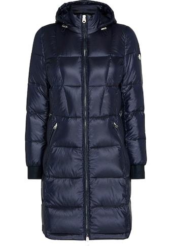 Calvin Klein Daunenmantel »LOFTY DOWN LONG COAT«, mit 2-Wege-Reißverschluss & CK Logo-Metalplättchen kaufen