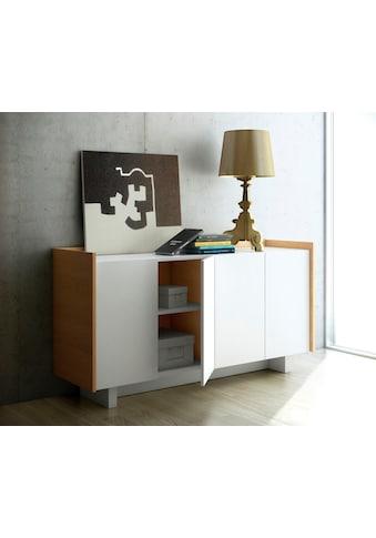TemaHome Sideboard »Skin«, im moderner Holzoptik und schönem Design, Breite 161 cm kaufen