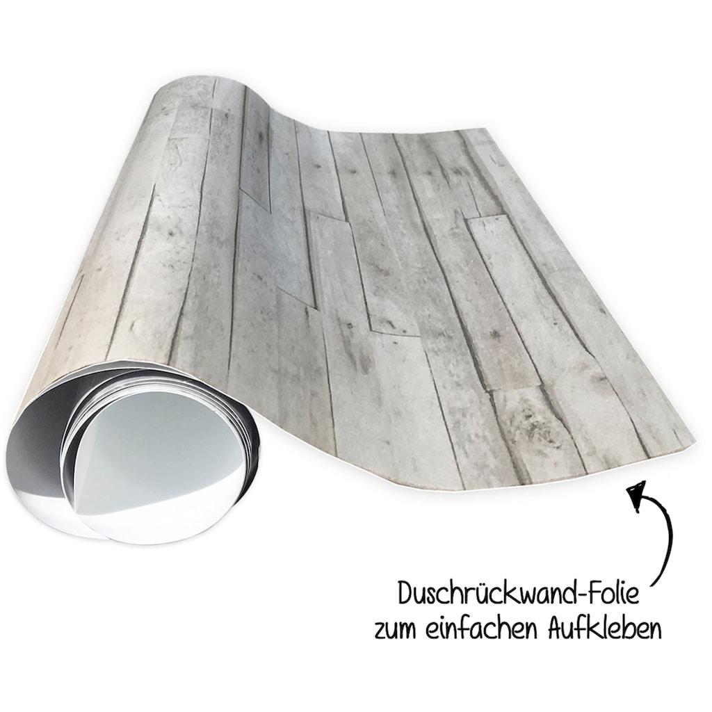 MySpotti Spritzschutz »fresh F2 Ancient Door«, 90 x 210 cm