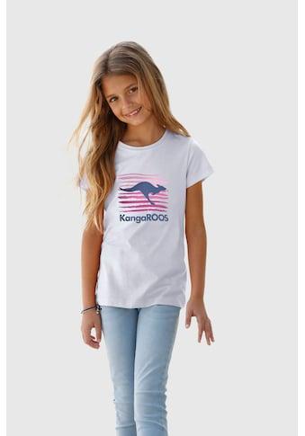 KangaROOS T-Shirt, mit großem Logodruck kaufen