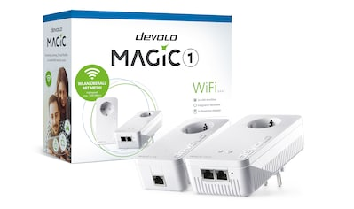 DEVOLO »(1200Mbit, Powerline + WLAN, 3x LAN, Mesh)« WLAN - Router kaufen