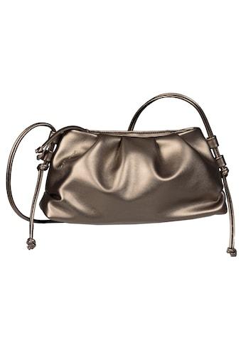 TOM TAILOR Mini Bag »VIOLA«, in Metallic Optik kaufen